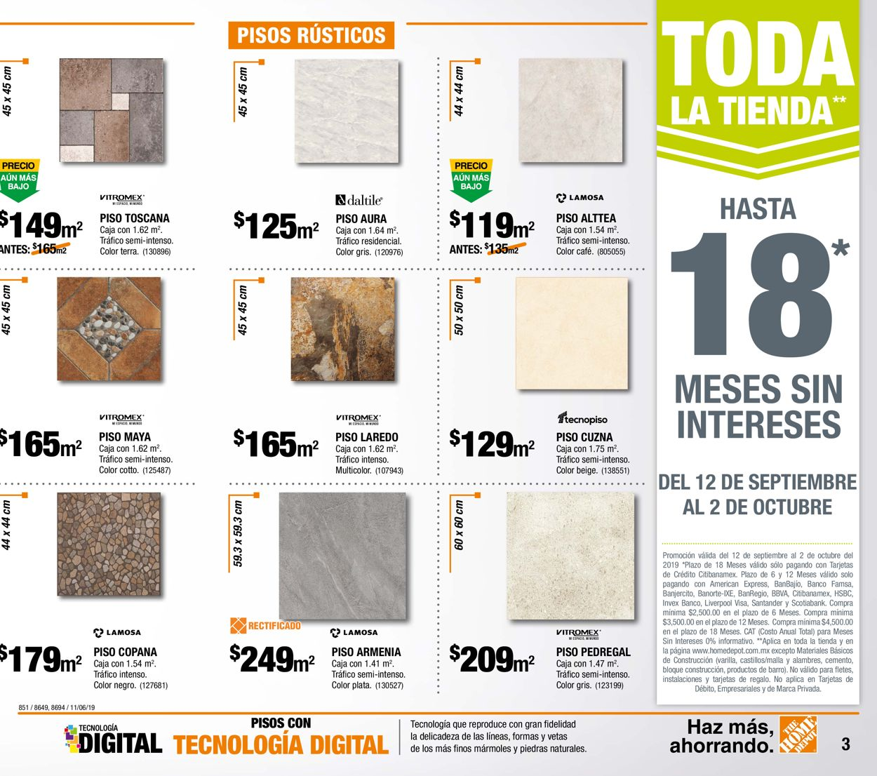 The Home Depot Folleto - 12.09-02.10.2019 (Página 3)
