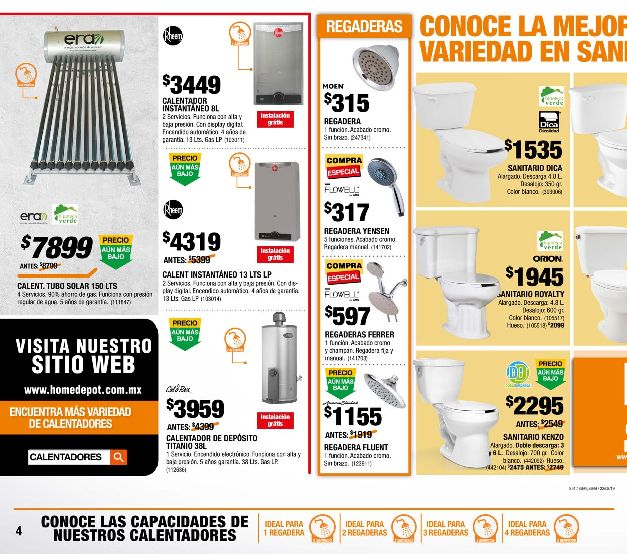The Home Depot Folleto - 12.09-02.10.2019 (Página 4)