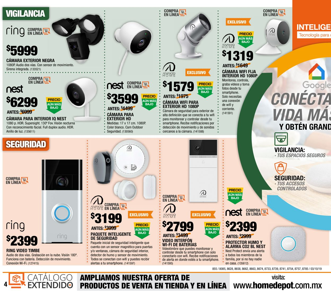 The Home Depot Folleto - 03.10-16.10.2019 (Página 4)