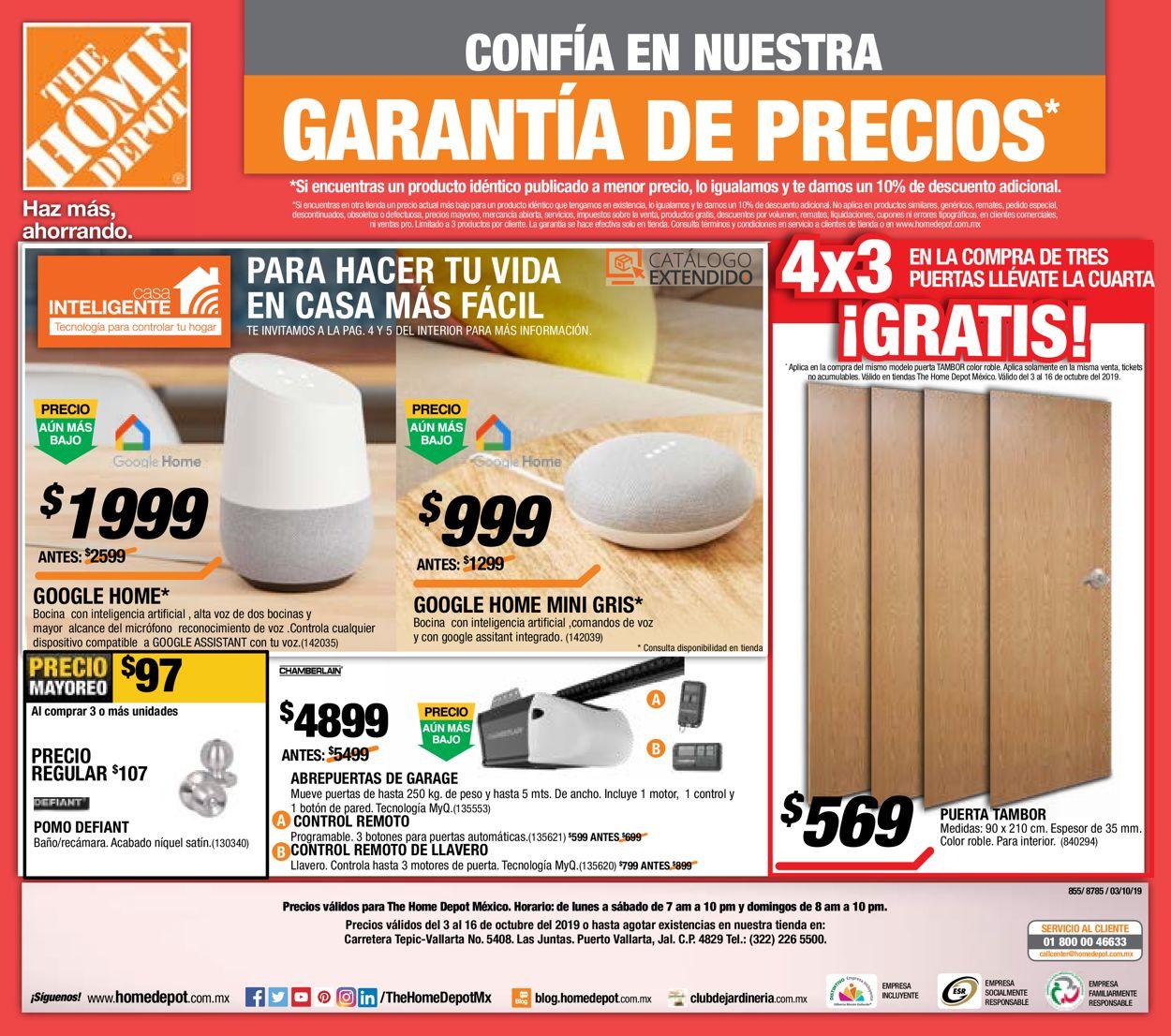 The Home Depot Folleto - 03.10-16.10.2019 (Página 24)
