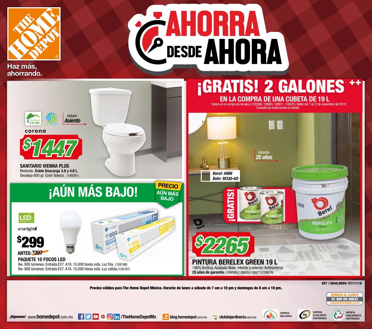 The Home Depot Catálogo Navideño 19/20 Folleto - 07.11-27.11.2019 (Página 16)