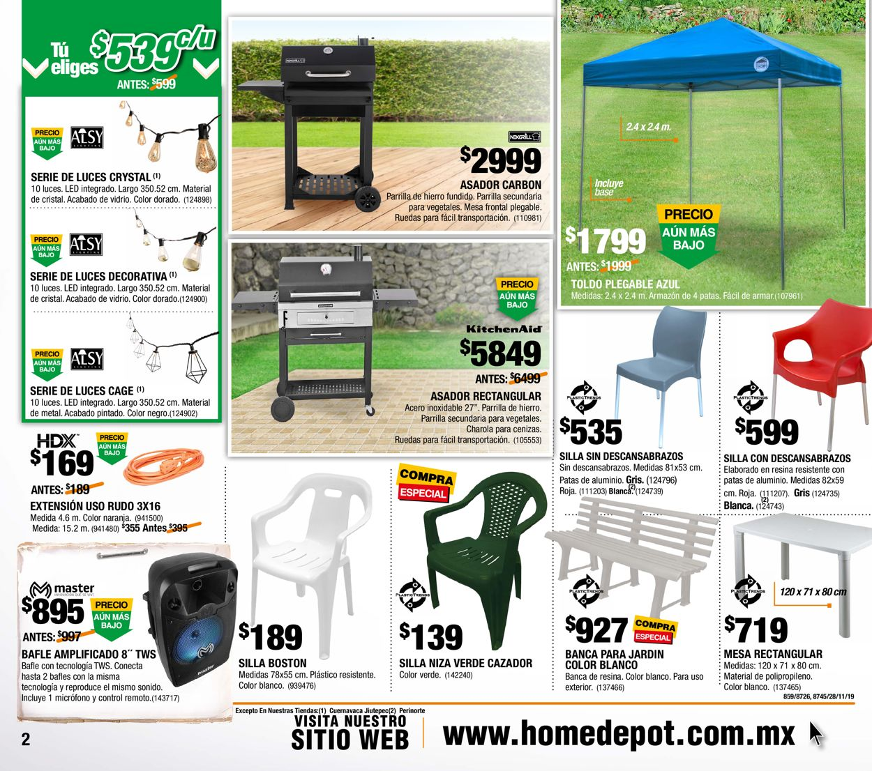 The Home Depot Folleto - 28.11-25.12.2019 (Página 2)