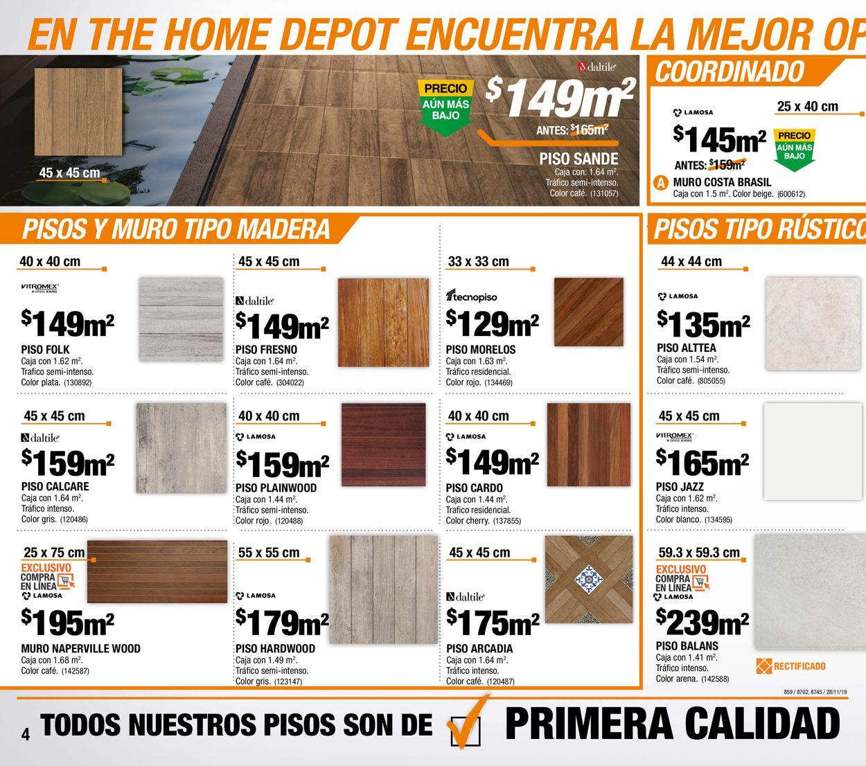 The Home Depot Folleto - 28.11-25.12.2019 (Página 4)