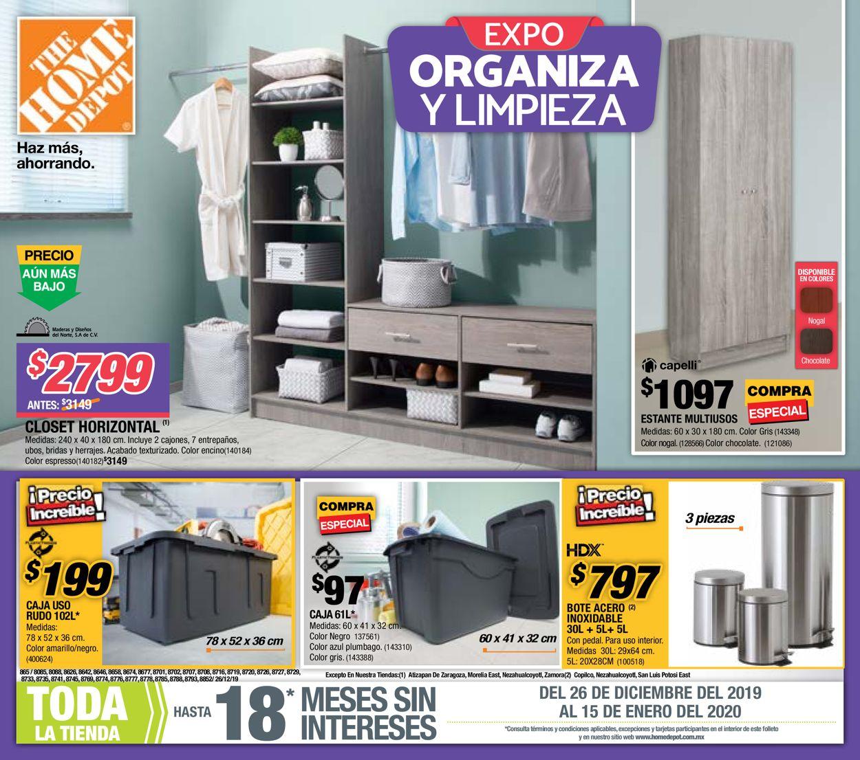 The Home Depot Folleto - 26.12-15.01.2020