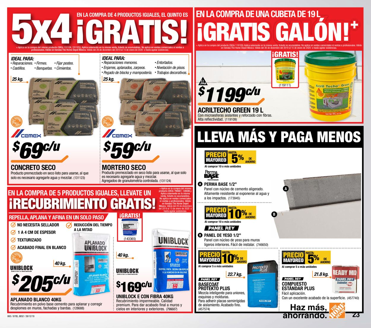 The Home Depot Folleto - 26.12-15.01.2020 (Página 23)