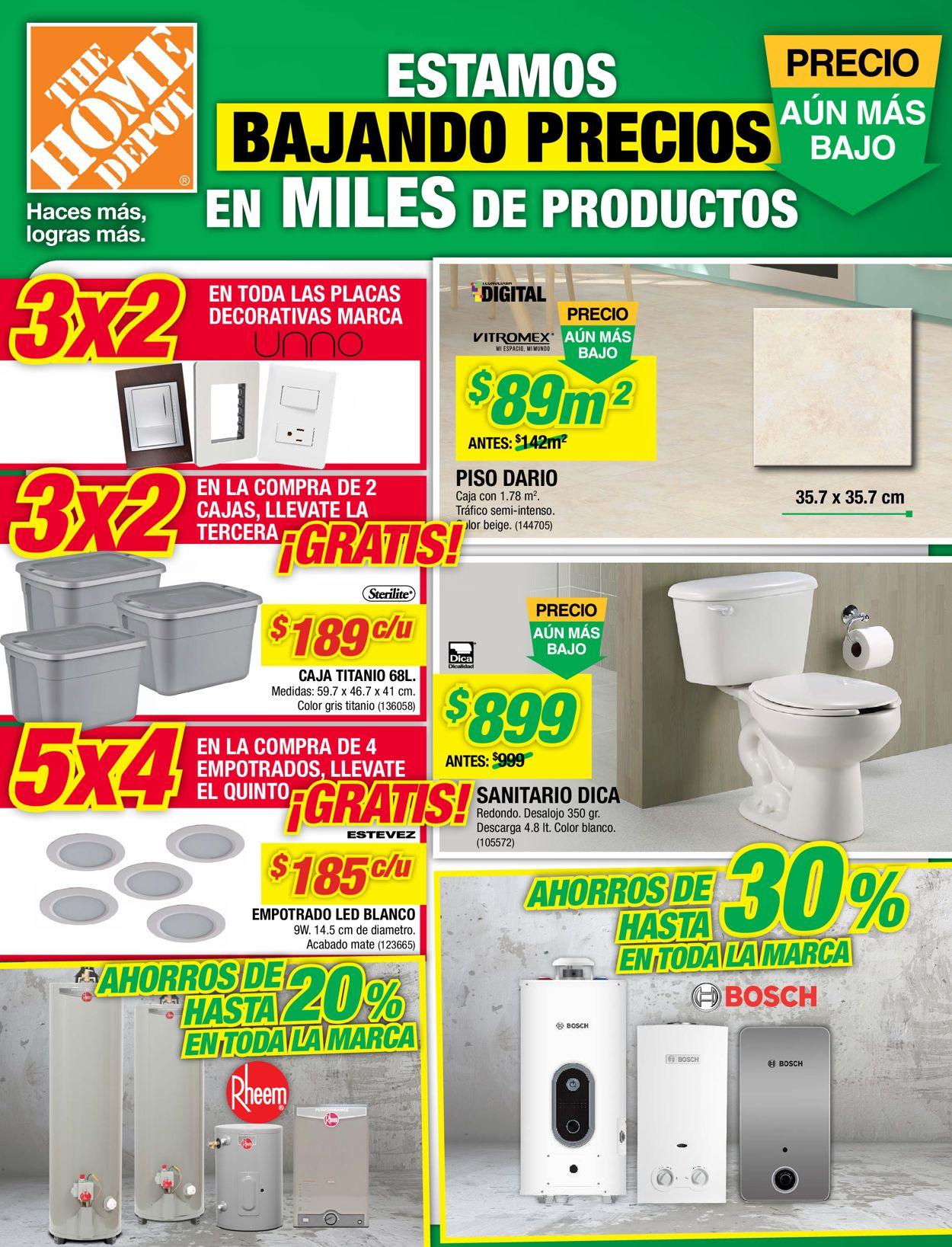 The Home Depot Folleto - 05.03-11.03.2020