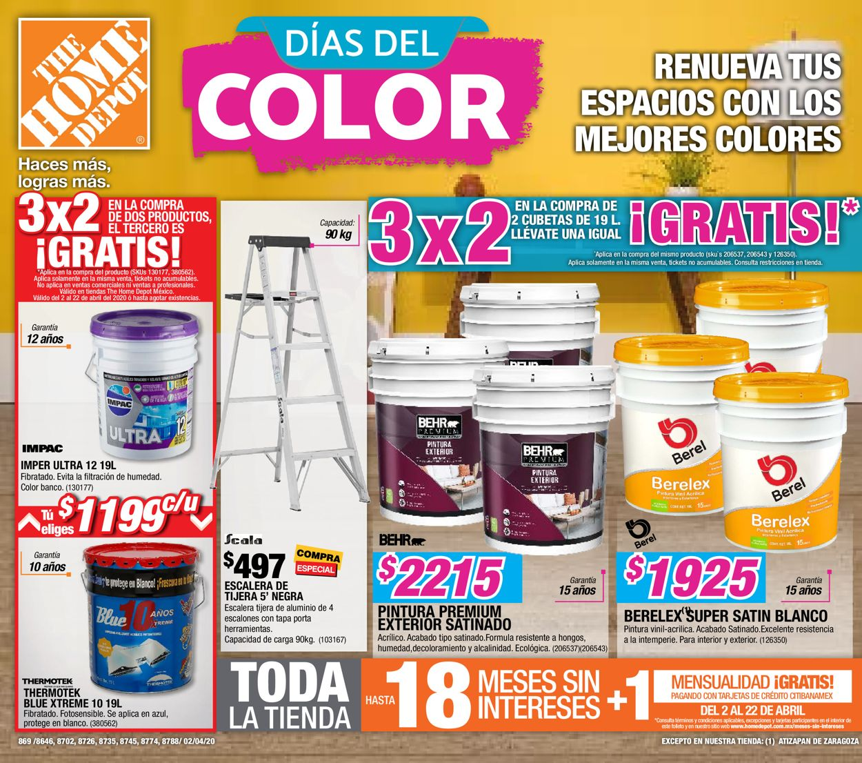 The Home Depot Folleto - 02.04-22.04.2020