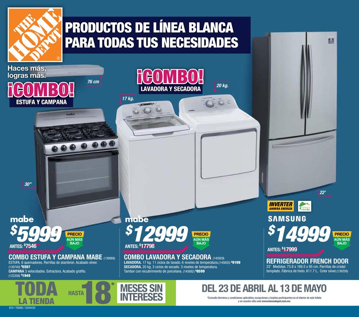 The Home Depot Folleto - 23.04-13.05.2020