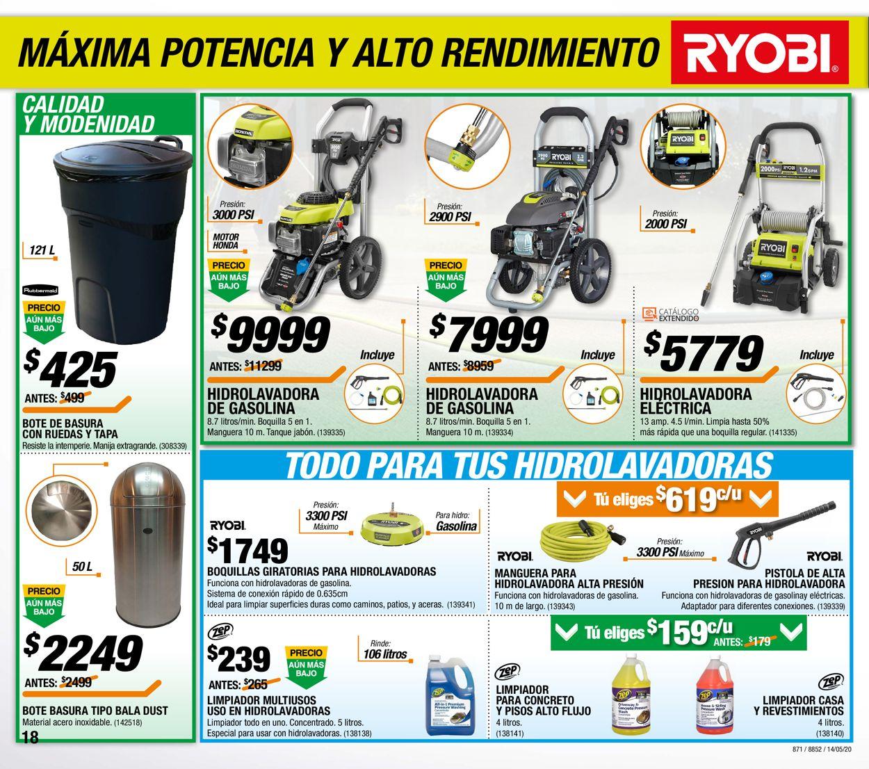 The Home Depot Folleto - 14.05-03.06.2020 (Página 18)