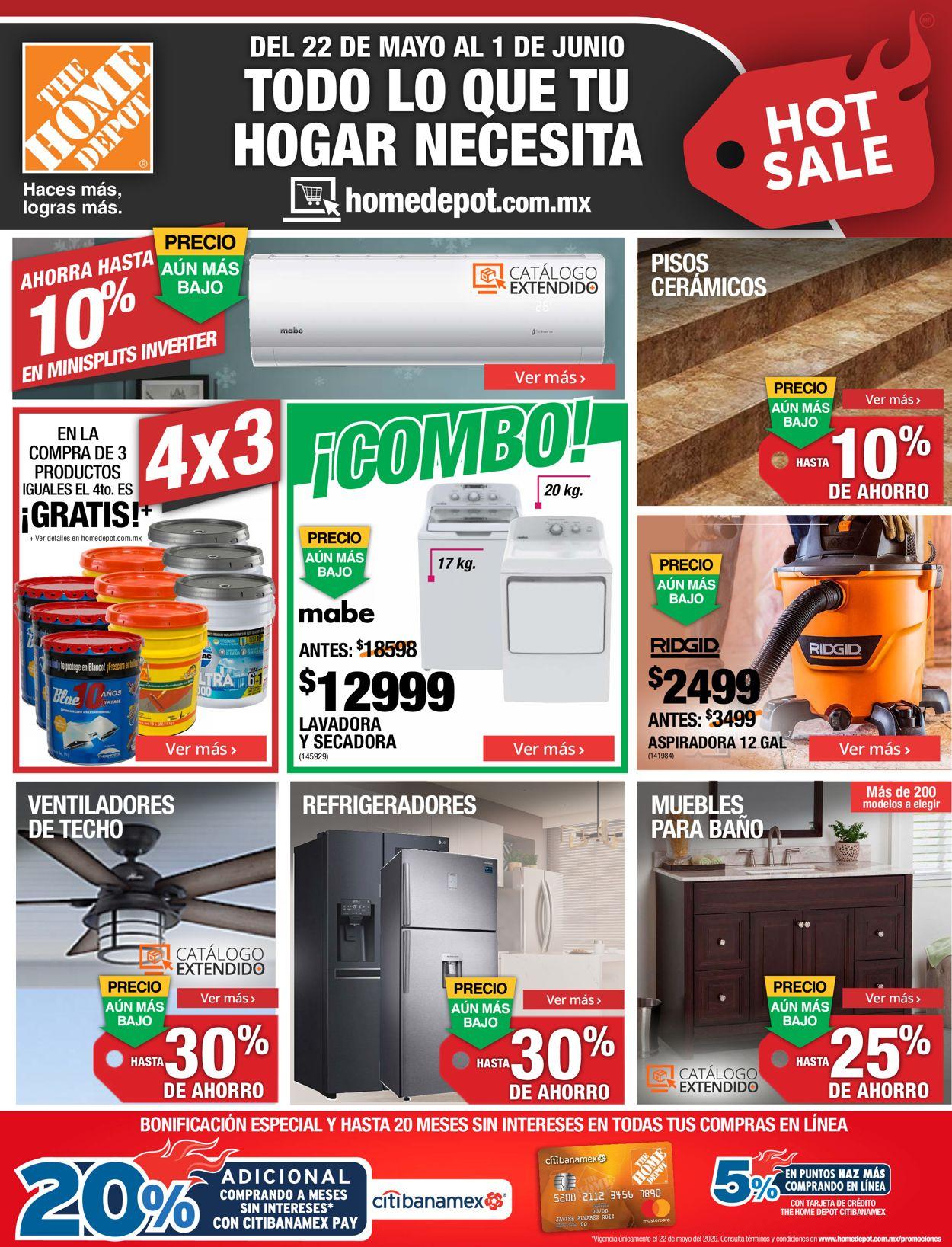 The Home Depot Folleto - 22.05-01.06.2020