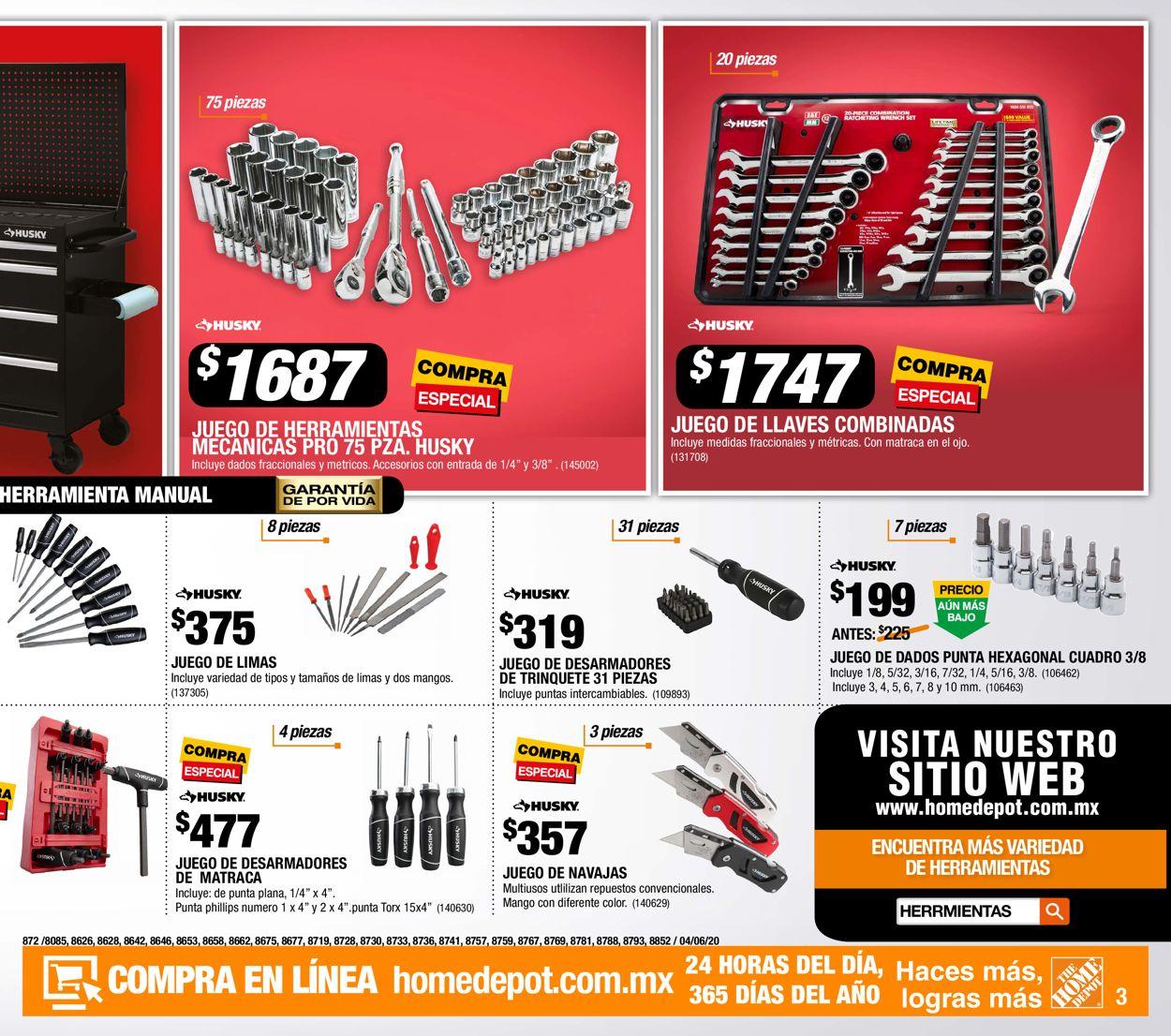 The Home Depot Folleto - 04.06-24.06.2020 (Página 3)