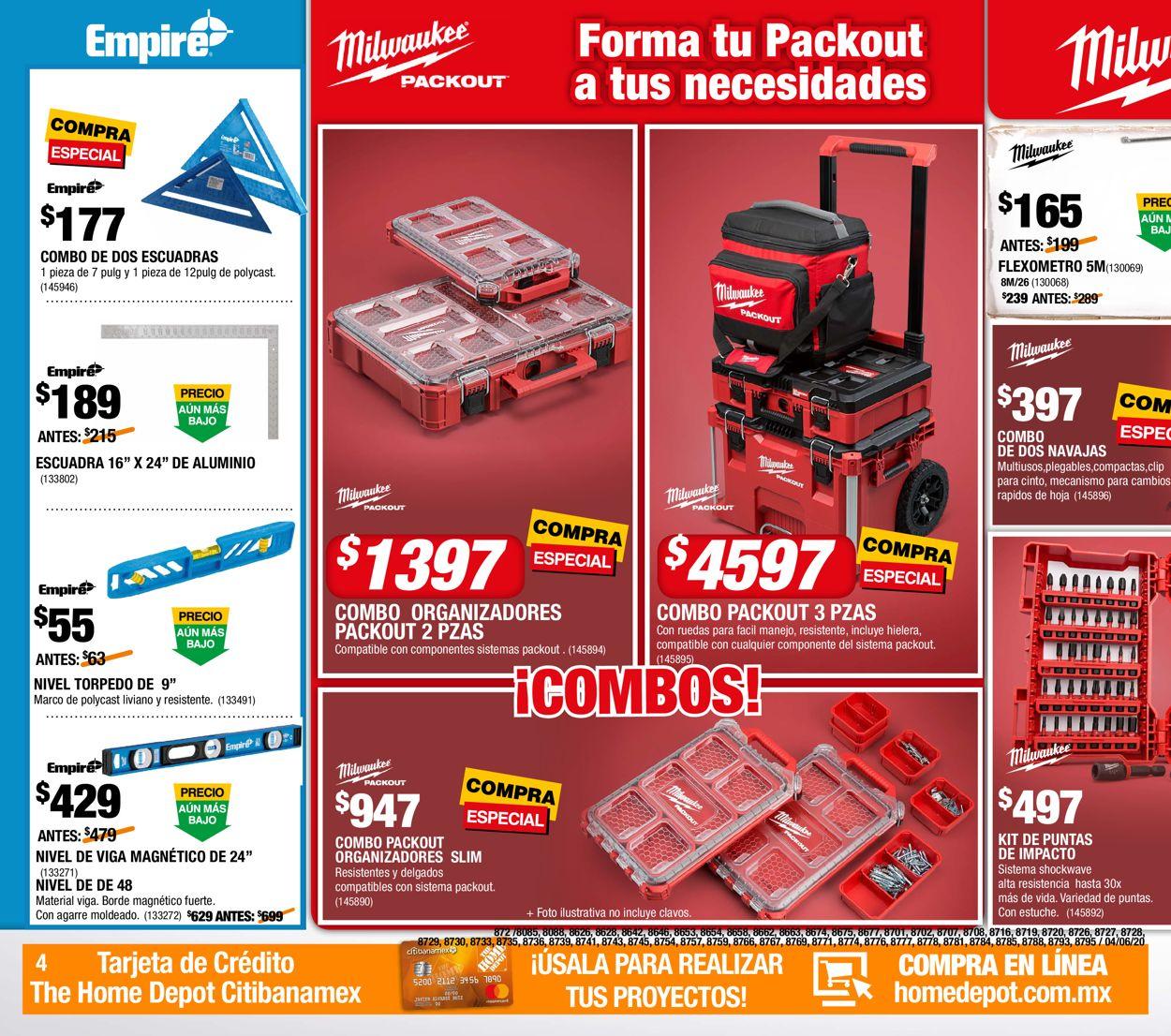 The Home Depot Folleto - 04.06-24.06.2020 (Página 4)