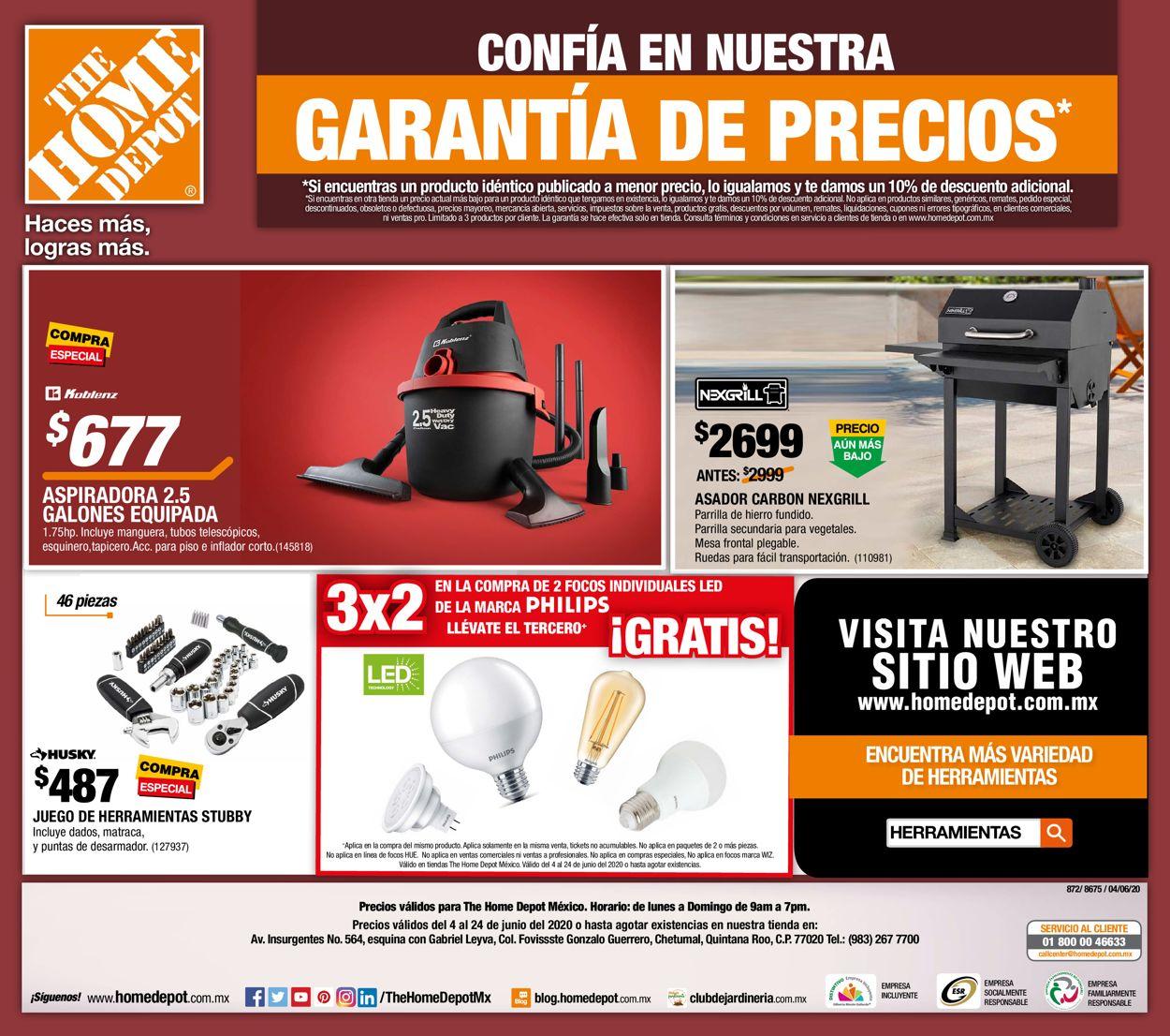 The Home Depot Folleto - 04.06-24.06.2020 (Página 24)