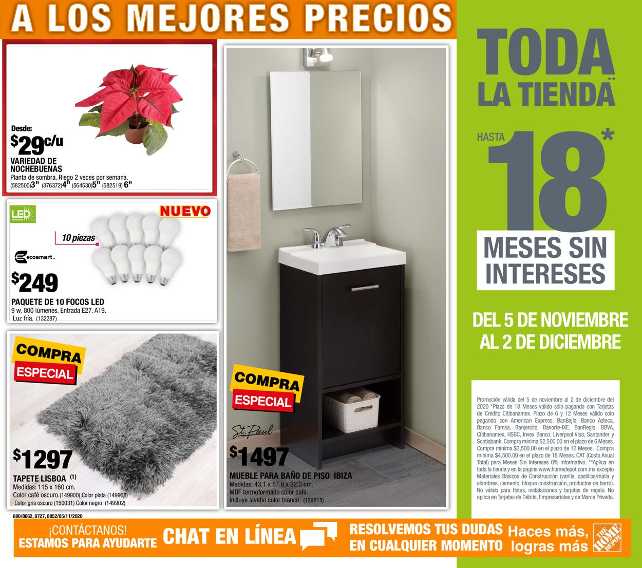 The Home Depot Navidad 2020 Folleto - 05.11-02.12.2020 (Página 3)