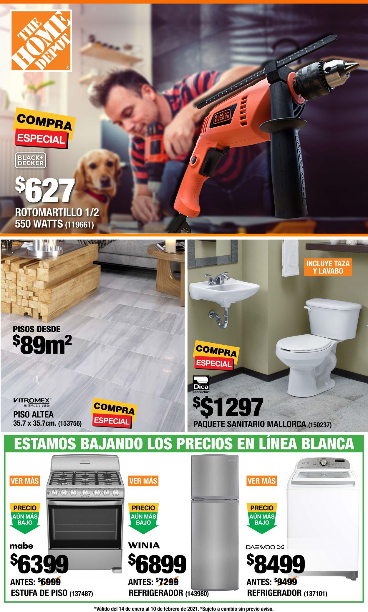 The Home Depot Folleto - 14.01-10.02.2021
