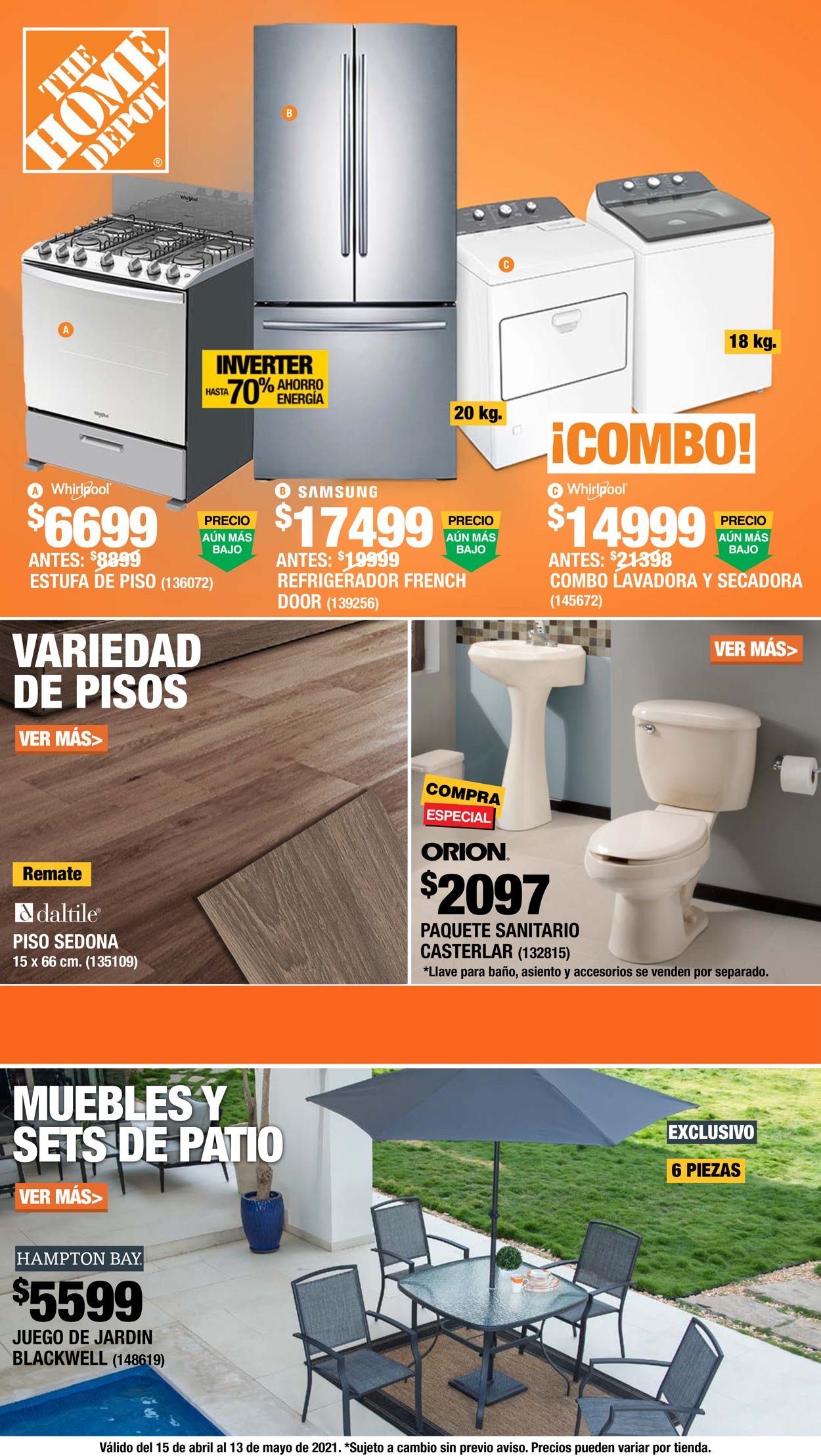 The Home Depot Folleto - 15.04-13.05.2021
