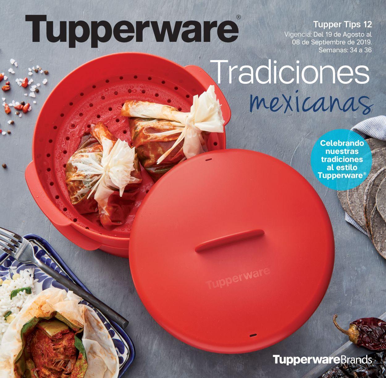 Tupperware Folleto - 19.08-08.09.2019