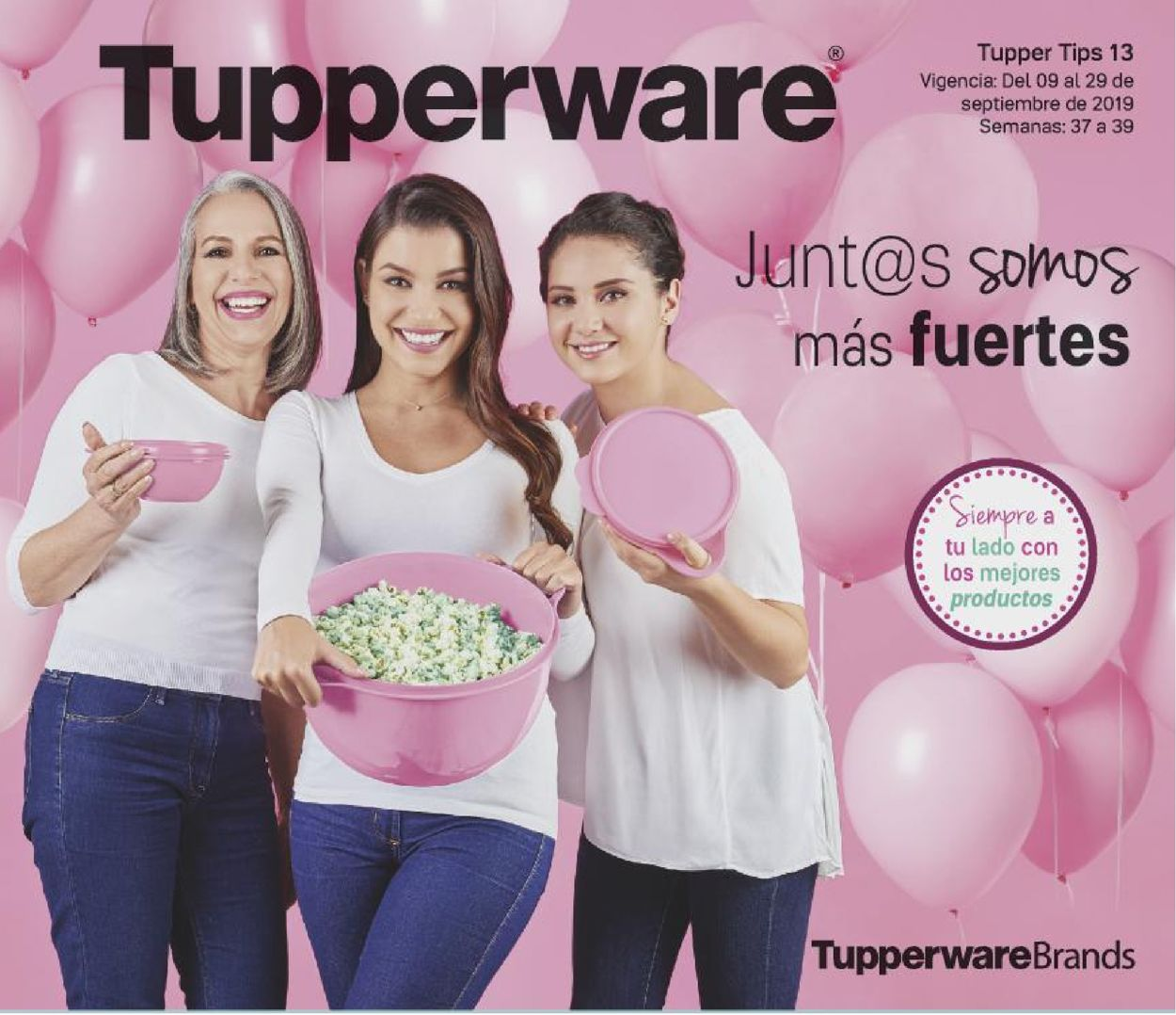 Tupperware Folleto - 09.09-29.09.2019