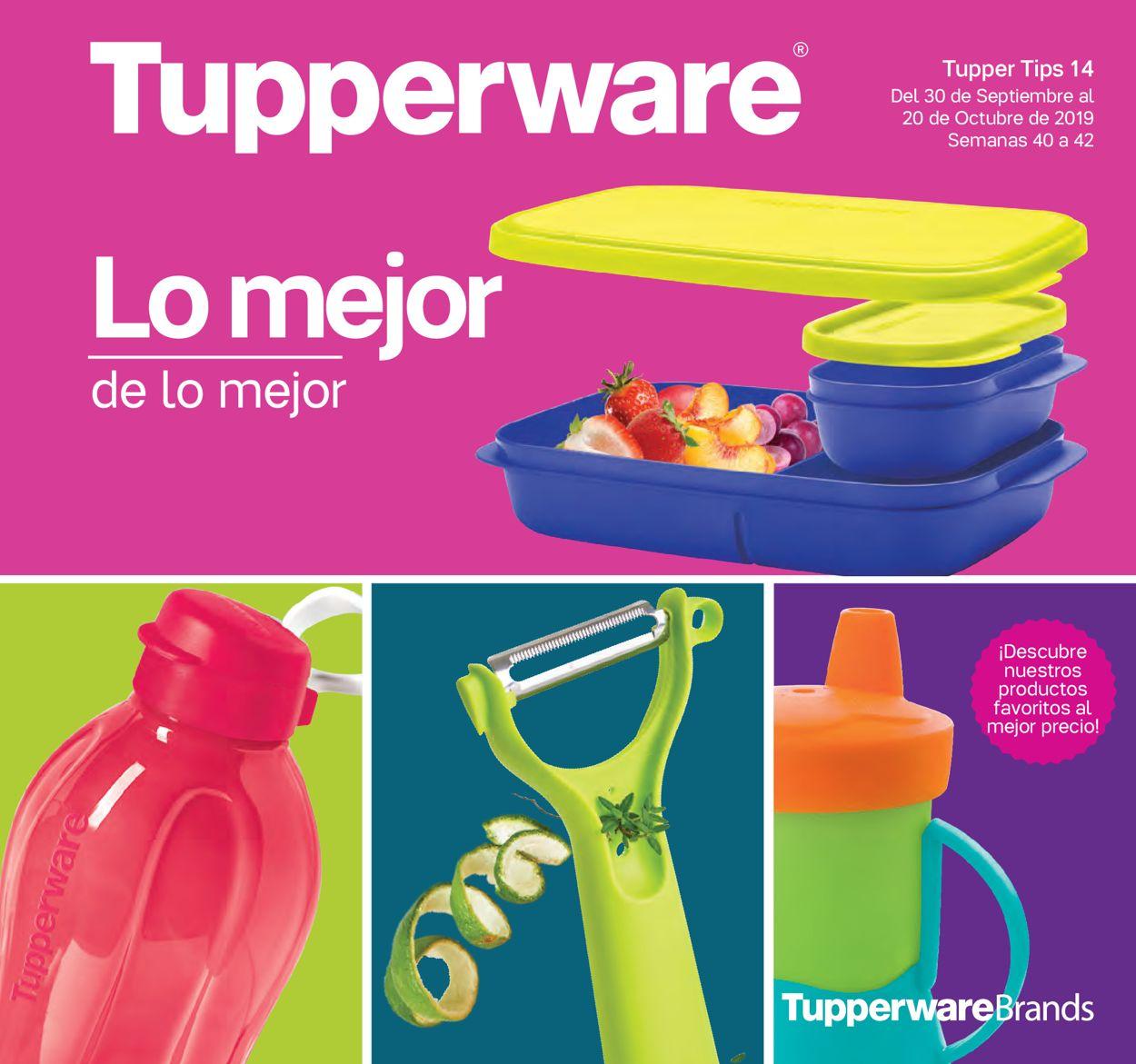 Tupperware Folleto - 30.09-20.10.2019