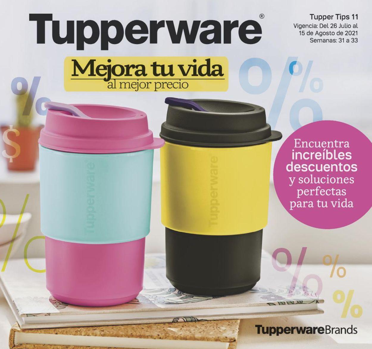 Tupperware Folleto - 26.07-15.08.2021