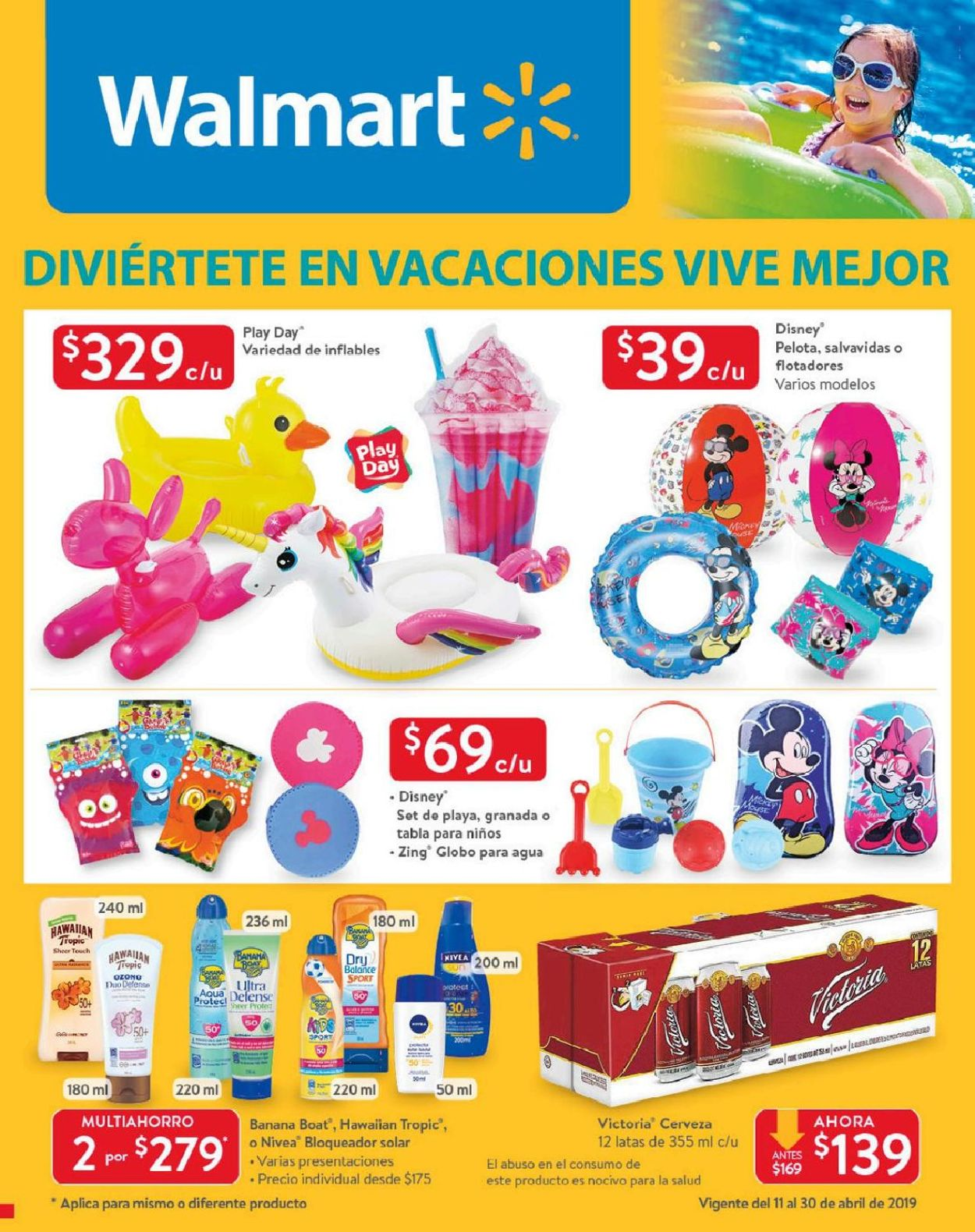 Walmart Folleto - 11.04-30.04.2019