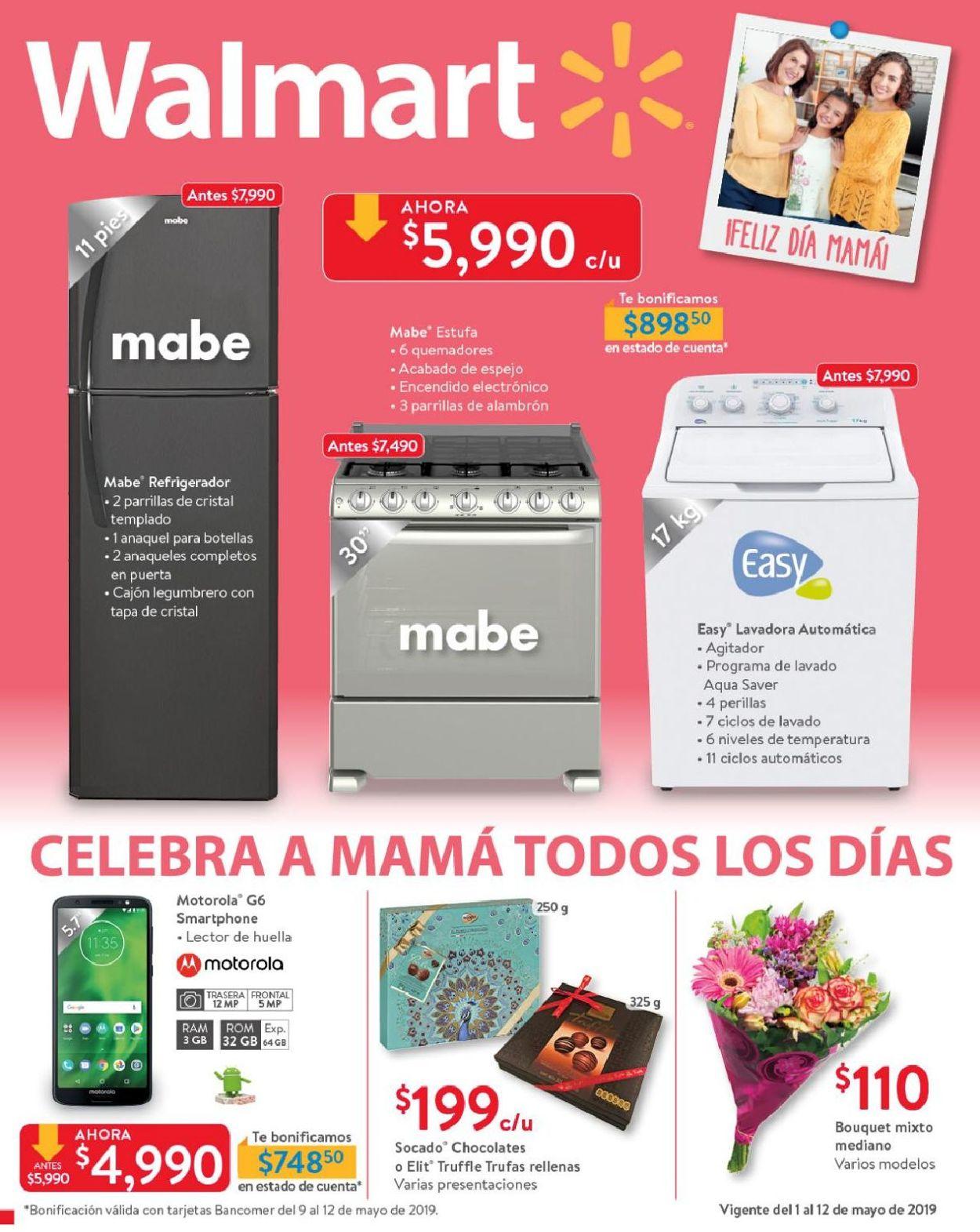 Walmart Folleto - 01.05-12.05.2019