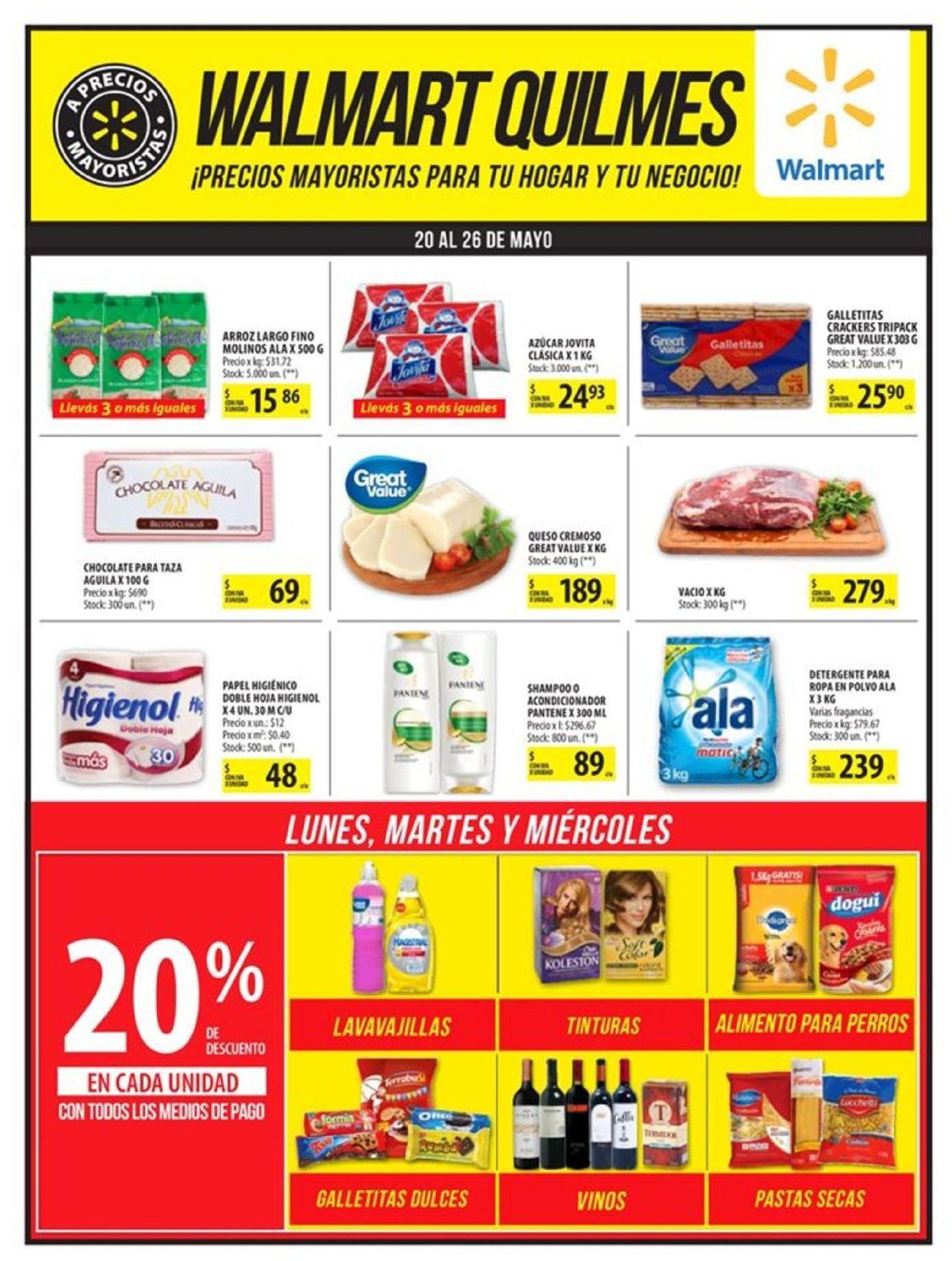 Walmart Folleto - 20.05-26.05.2019