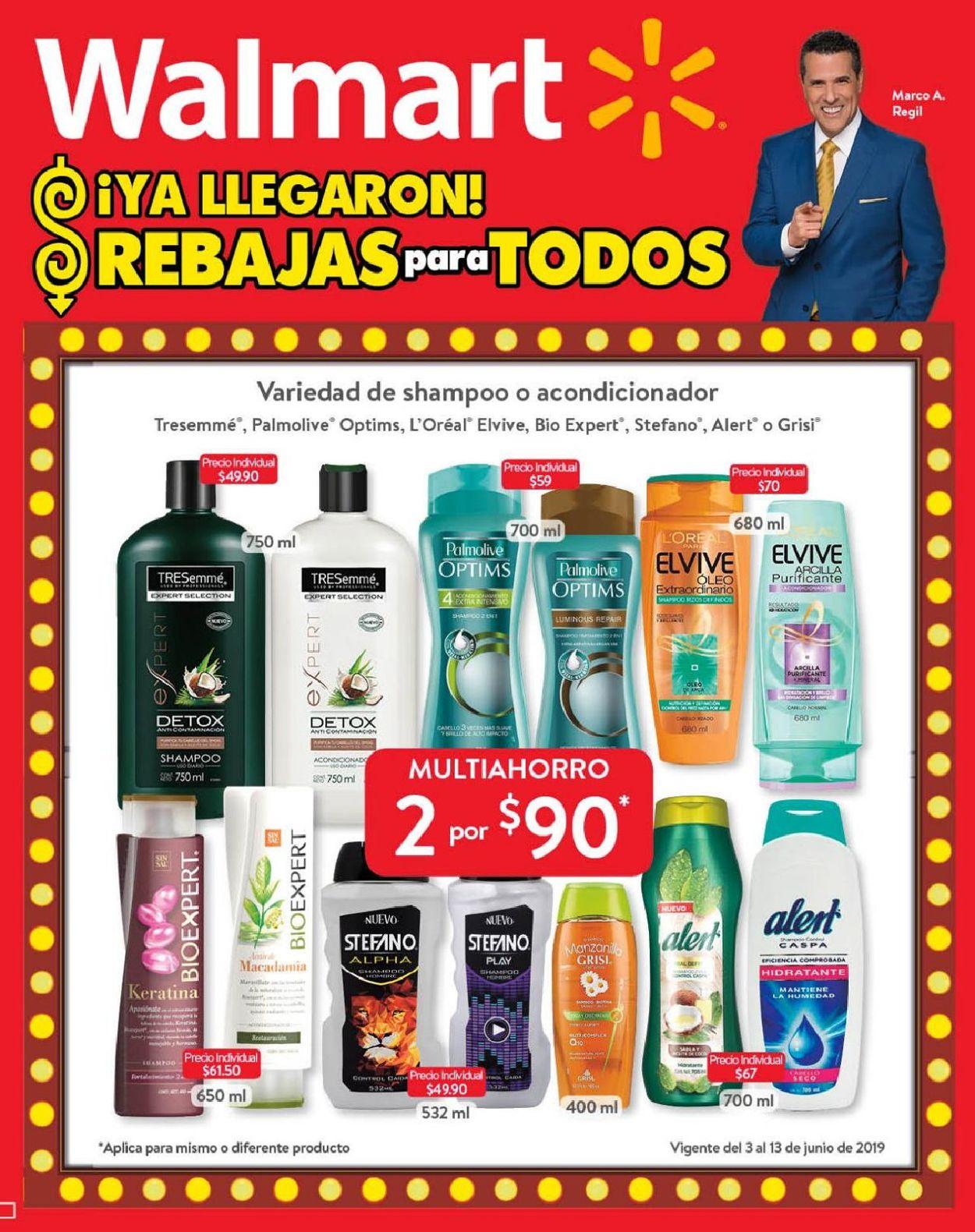 Walmart Folleto - 03.06-13.06.2019