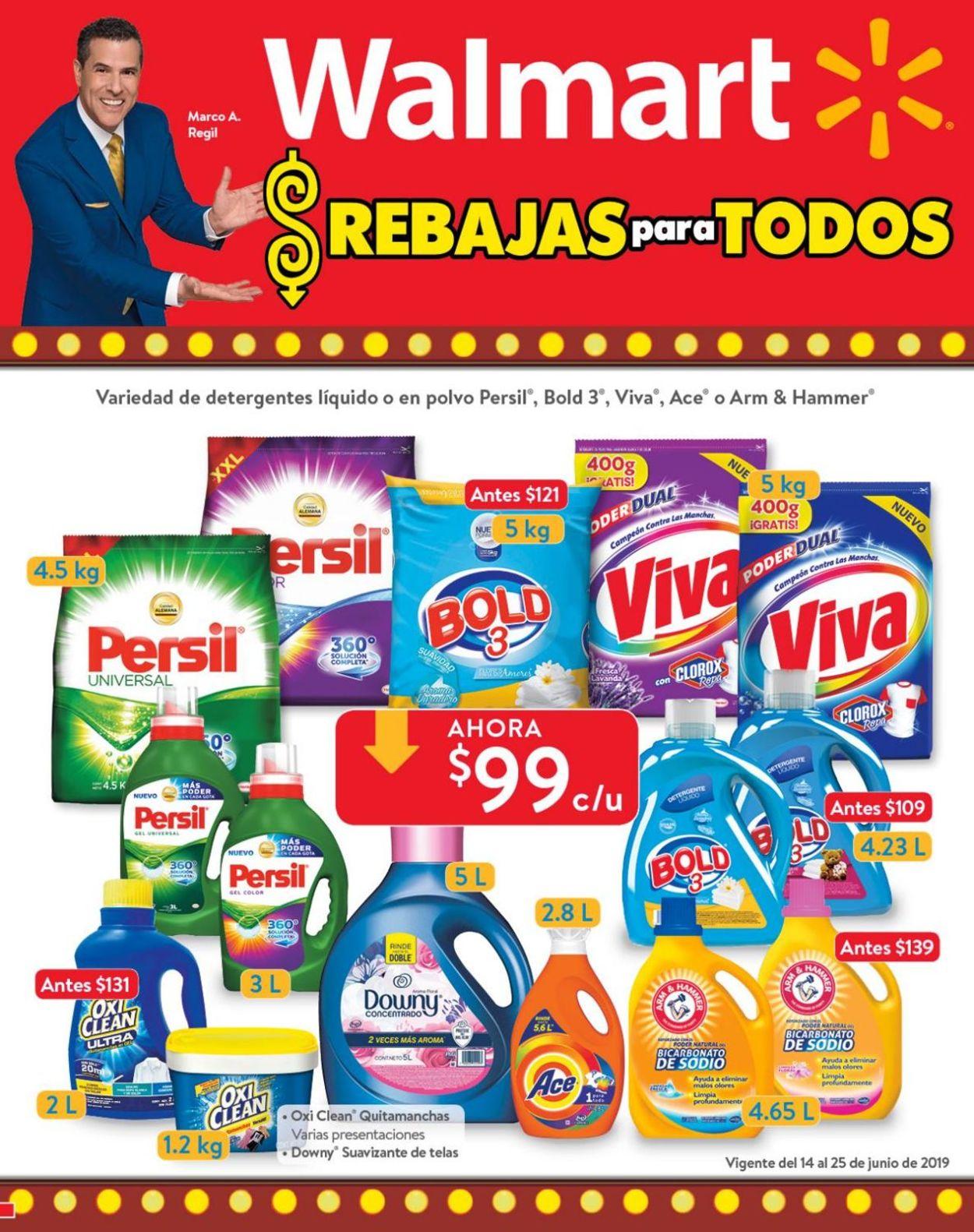 Walmart Folleto - 14.06-25.06.2019