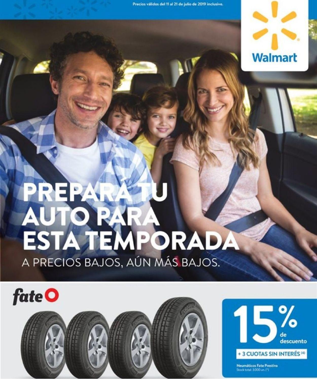 Walmart Folleto - 11.07-21.07.2019