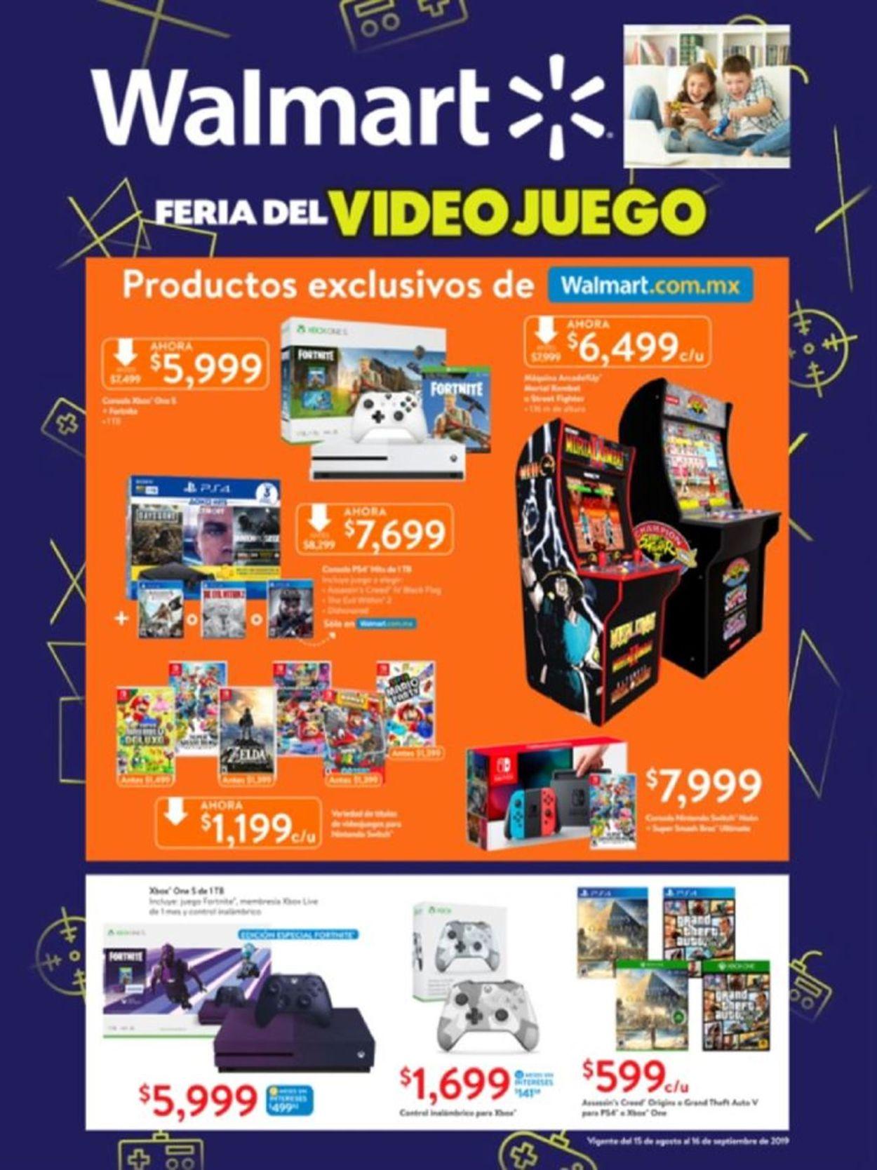 Walmart Folleto - 15.08-16.09.2019