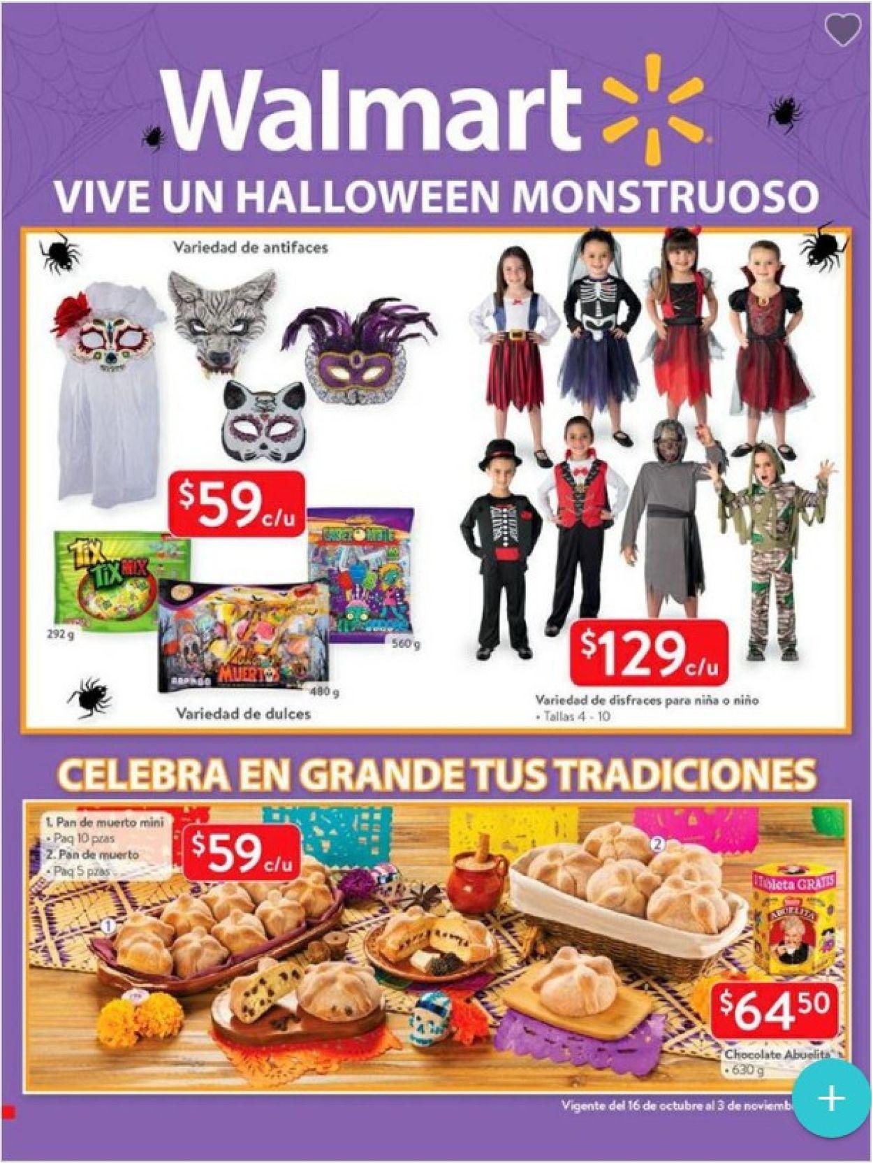 Walmart Folleto - 16.10-03.11.2019