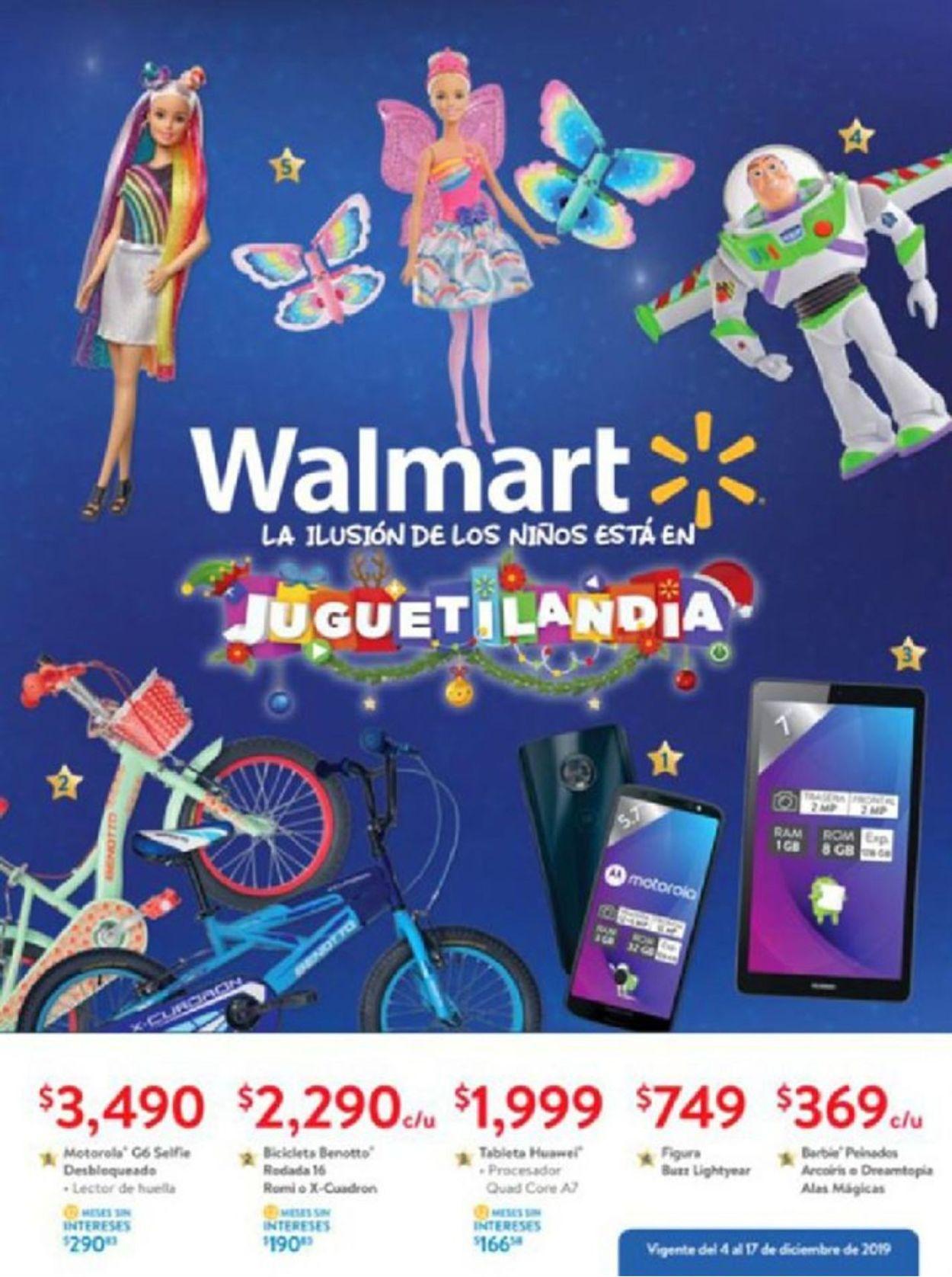 Walmart Catálogo Navideño Folleto - 04.12-17.12.2019