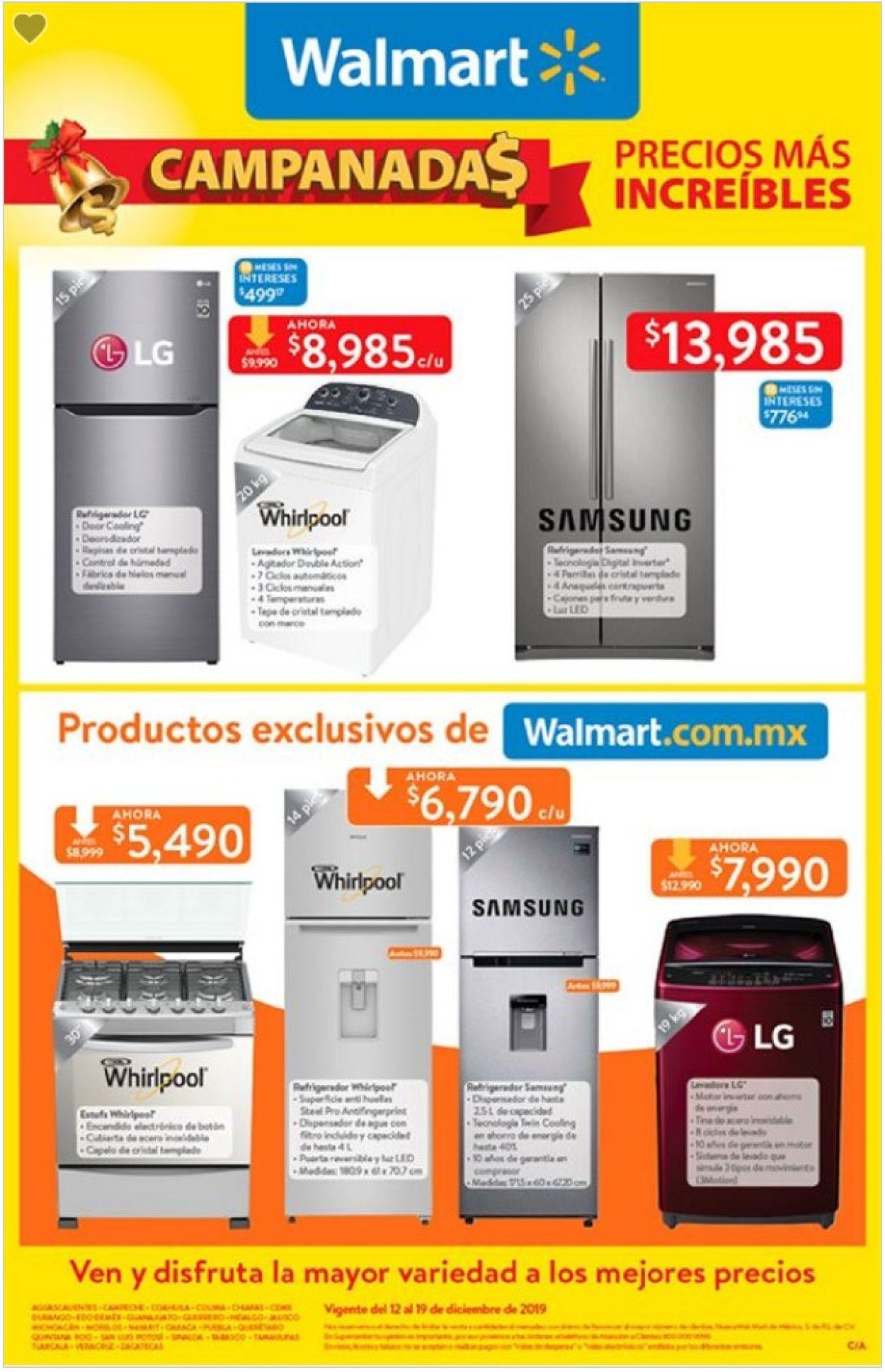 Walmart Folleto - 12.12-19.12.2019 (Página 7)