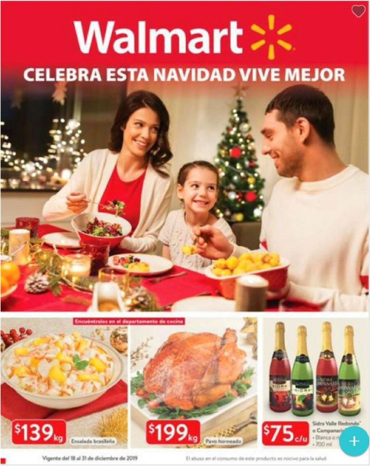 Walmart Folleto - 18.12-31.12.2019