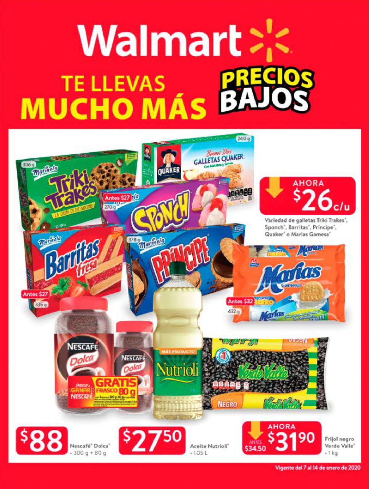 Walmart Folleto - 07.01-14.01.2020
