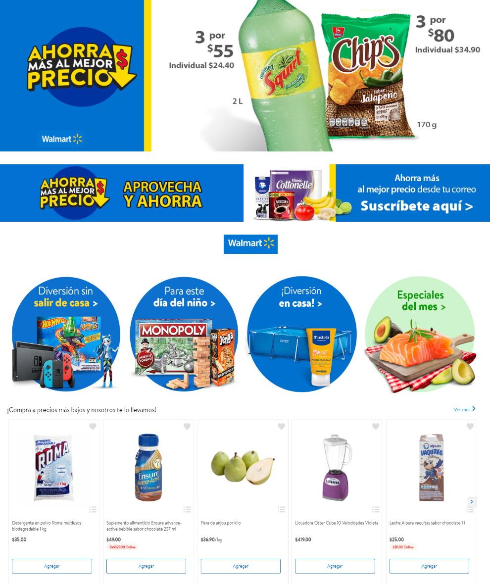 Walmart Folleto - 07.04-16.04.2020