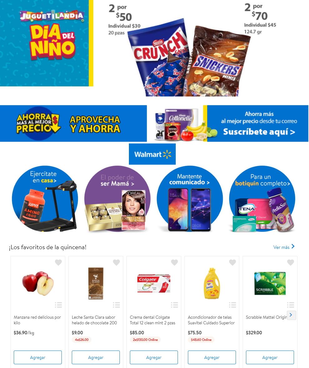 Walmart Folleto - 17.04-27.04.2020