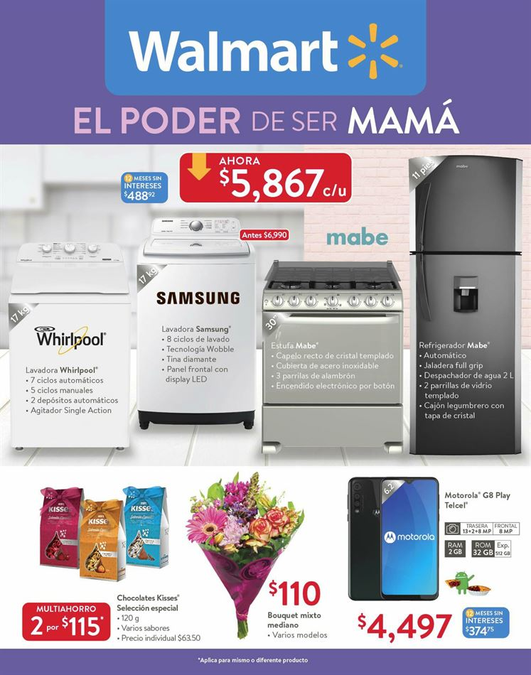 Walmart Folleto - 01.05-10.05.2020