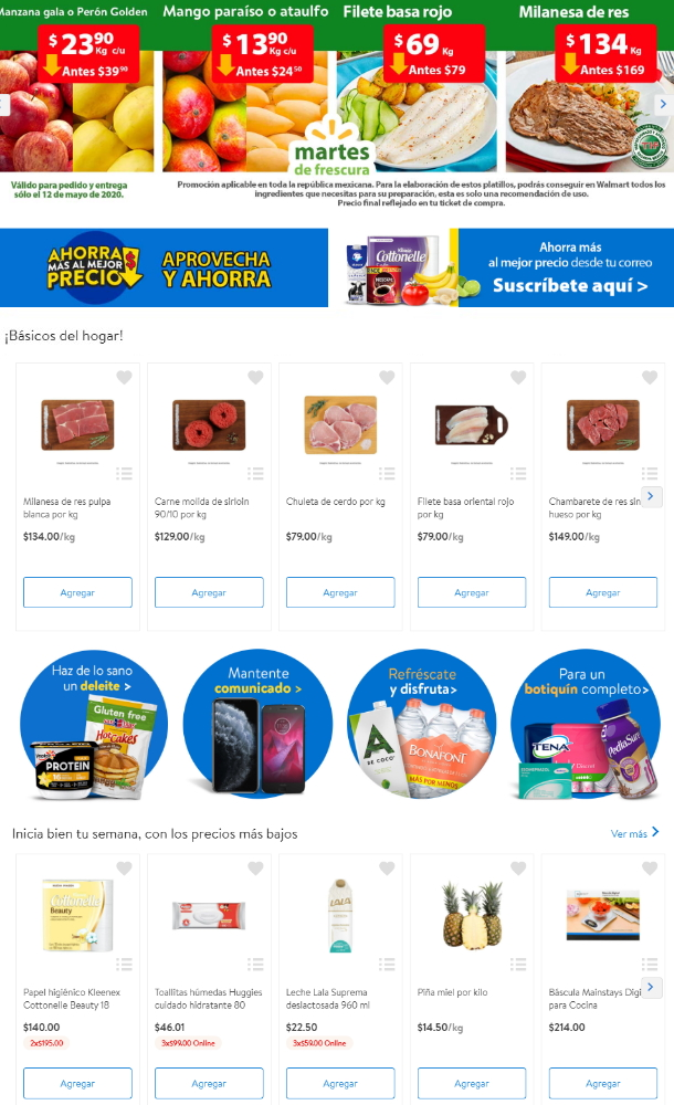 Walmart Folleto - 12.05-19.05.2020