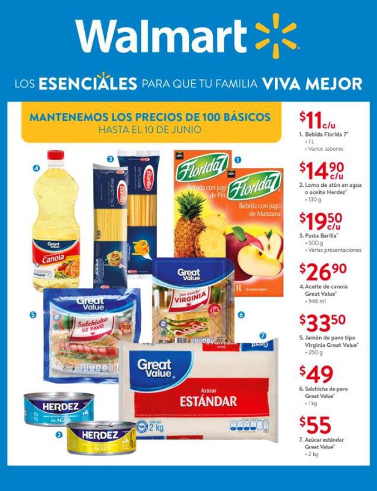 Walmart Folleto - 02.06-16.06.2020