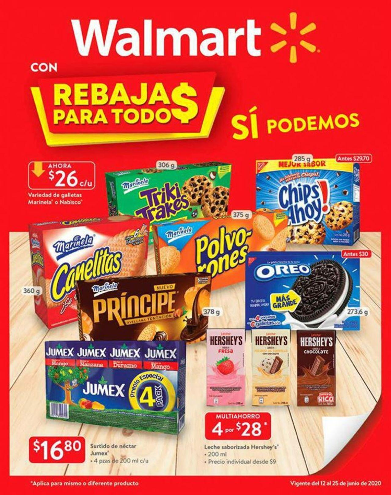 Walmart Folleto - 12.06-25.06.2020