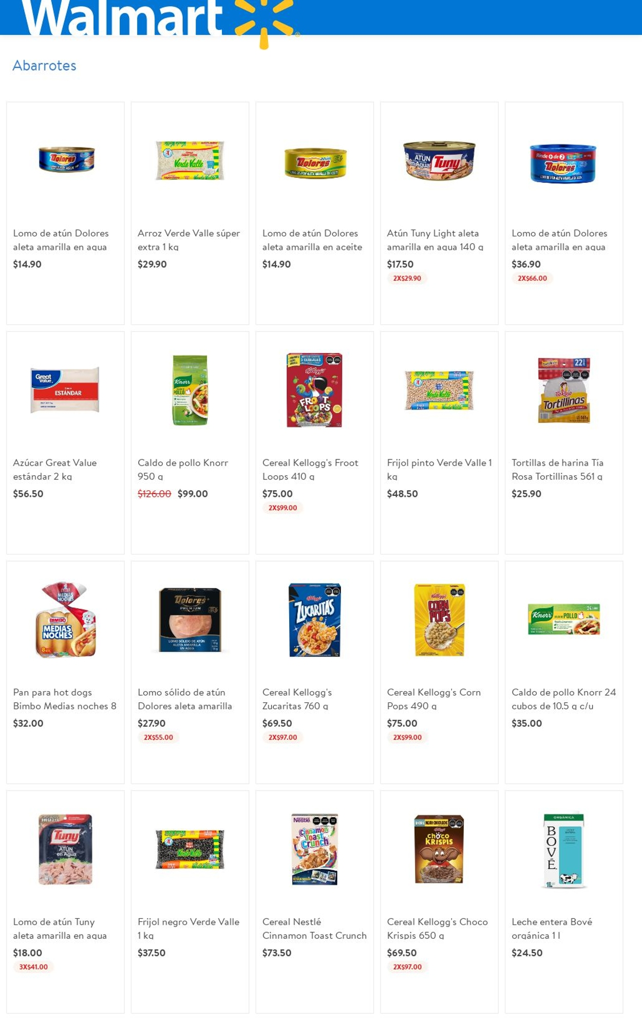 Walmart Folleto - 03.06-09.06.2021 (Página 4)