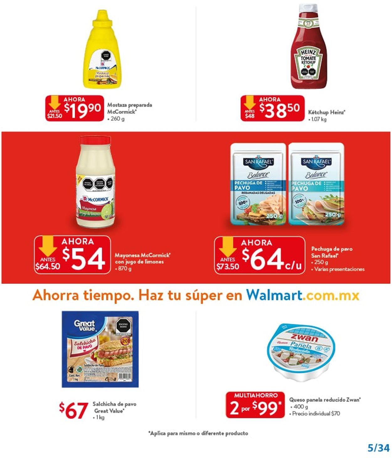 Walmart Folleto - 25.06-14.07.2021 (Página 5)