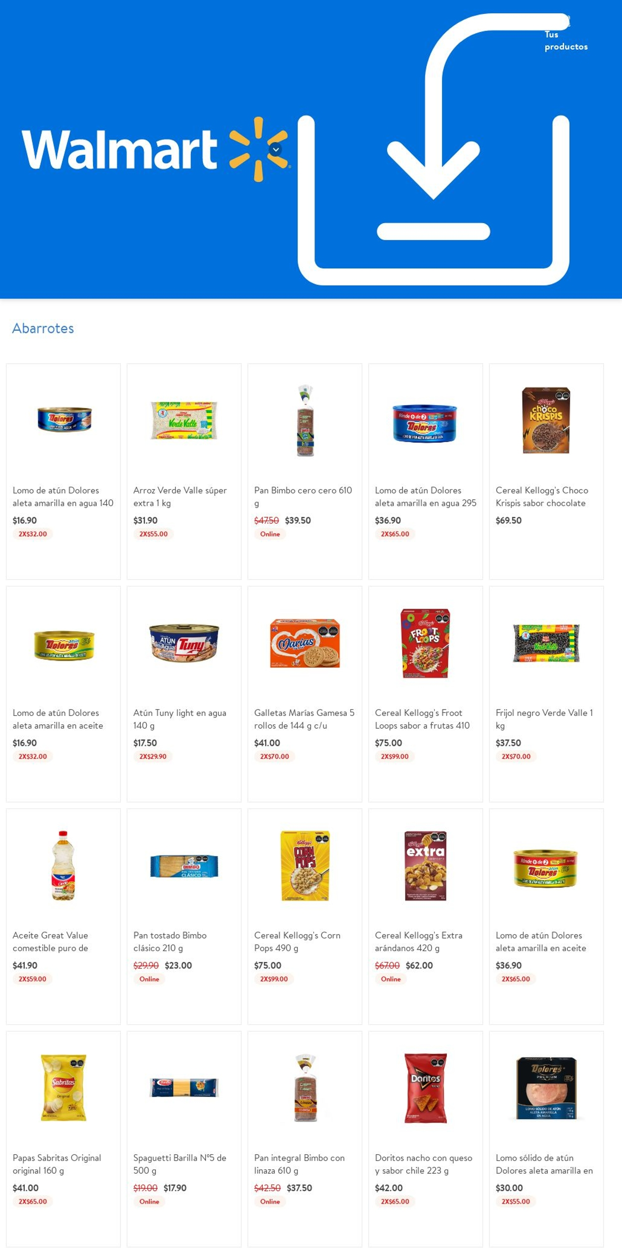 Walmart Folleto - 22.07-28.07.2021 (Página 6)