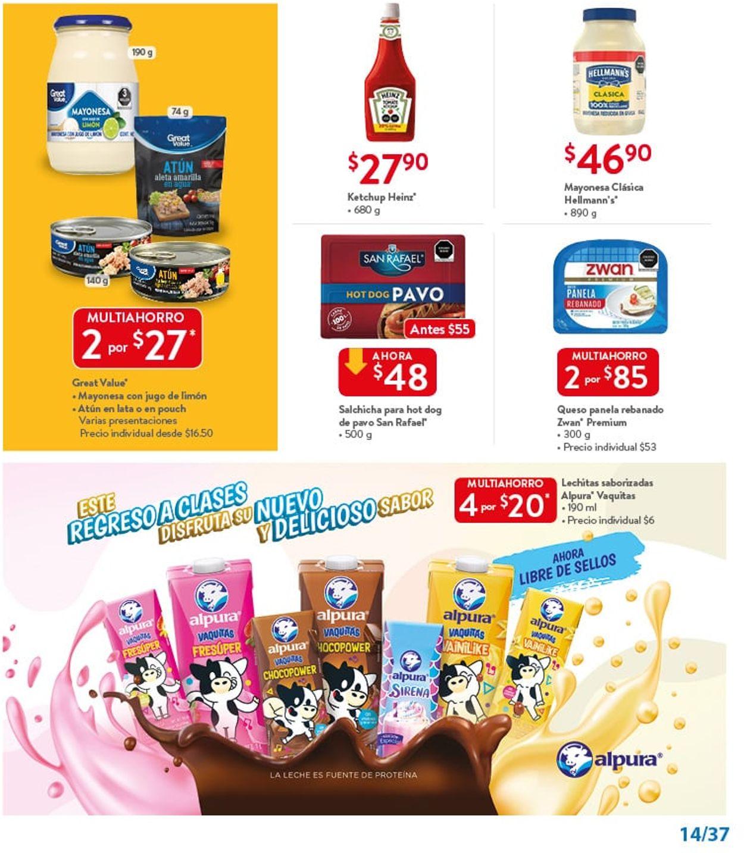 Walmart Folleto - 30.07-12.08.2021 (Página 13)