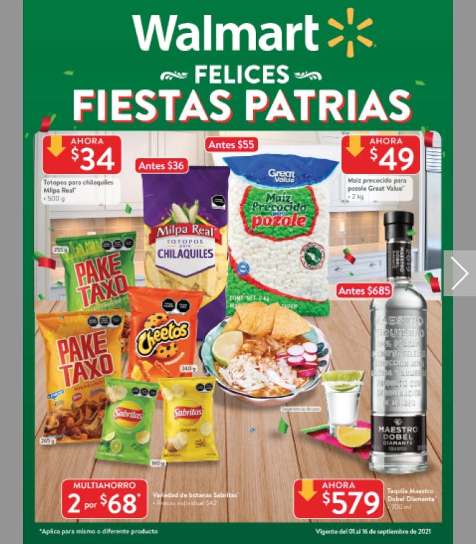 Walmart Folleto - 01.09-16.09.2021