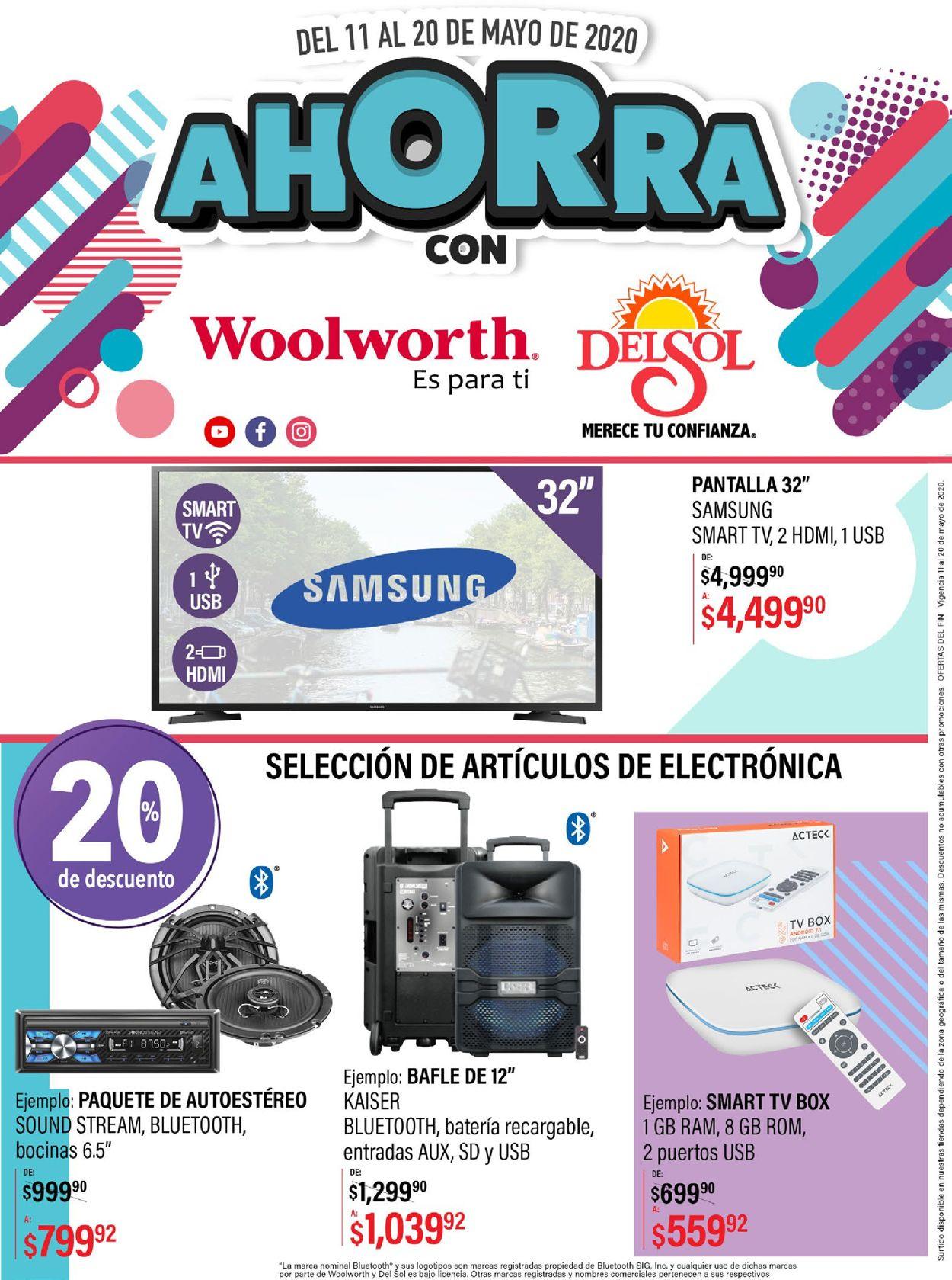 Woolworth Folleto - 11.05-20.05.2020