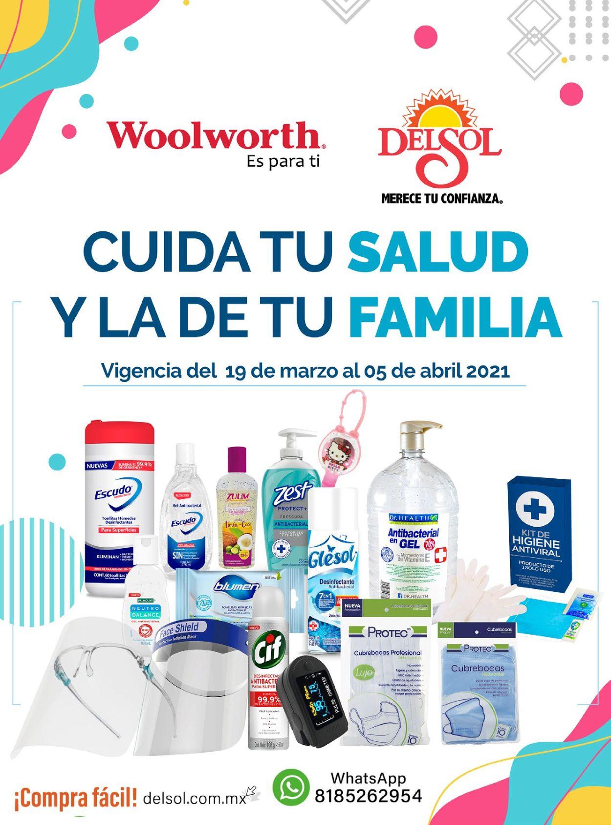 Woolworth Folleto - 18.03-05.04.2021