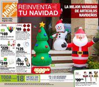 The Home Depot Navidad 2020